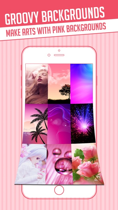 Pink Wallpapers Builder Make Girly Backgrounds For Homescreen With