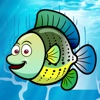 Green Coral Reef Flippers - FREE - 3D Jump & Dive Fish Underwater Paradise