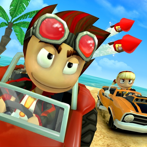 Beach buggy racing by vector unit