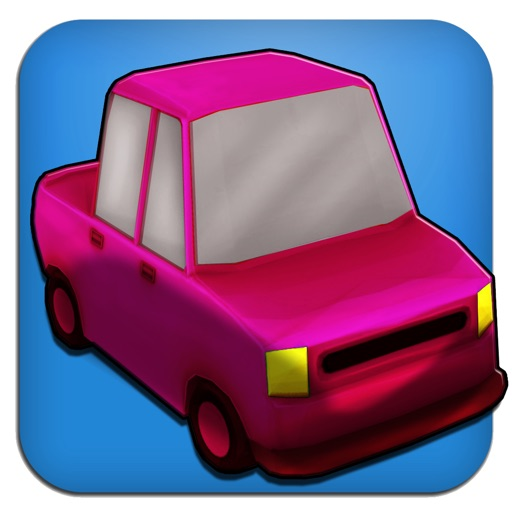 Cartoon Race 3D Car Driver iOS App