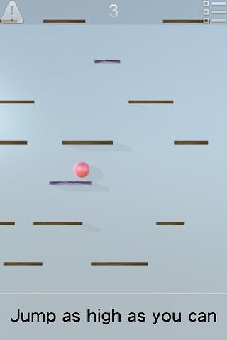 Ball Jump-up : Crossing River screenshot 1