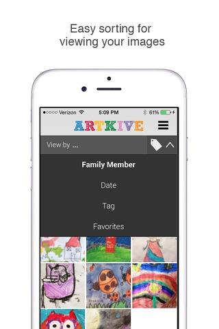 Artkive - Save Kids' Art screenshot 3