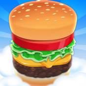 Sky Burger - Build & Match Food Free icon