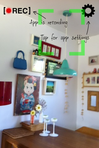 Motion Detector Cam Free screenshot 2