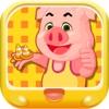 三只小猪滑板比赛 早教 儿童游戏