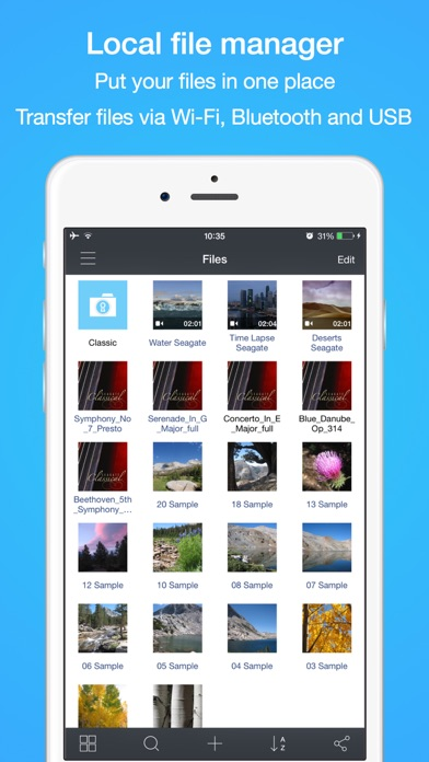 File Hub Pro by imoreapps Скриншоты4