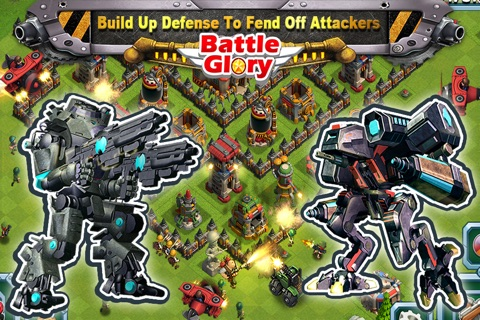 Battle Glory - Mech Army War screenshot 4