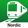 Nordic Transit - Helsinki,  Oslo and Stockholm by NAVITIME