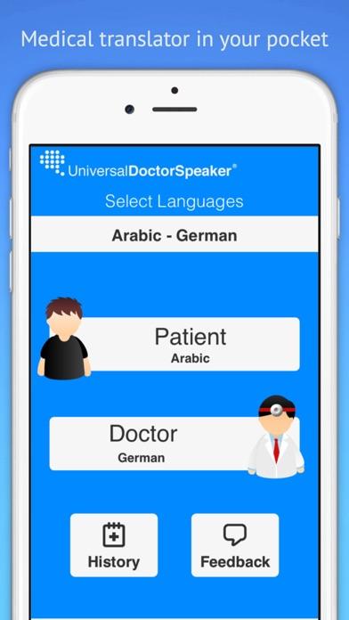 download Universal Doctor Speaker: Traductor médico con  a udio apps 2