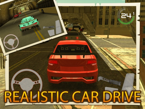 Screenshots of City Traffic Car Driving Parking Career Simulator for iPad