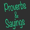 Proverbs & Sayings.