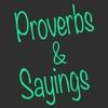Proverbs & Sayings.