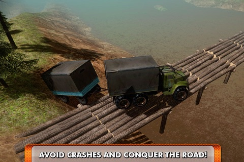 Offroad Truck Driving Simulator 3D Full screenshot 2
