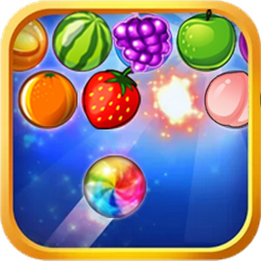 Crazy Fruit Bubble Mania iOS App