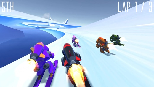 Rocket Ski Racing Screenshot