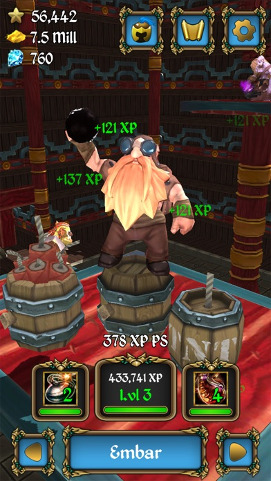 Level Up: Villains (Idle Clicker) Screenshot