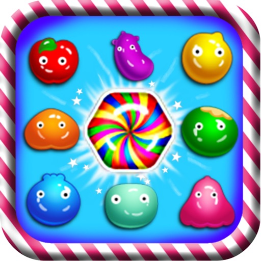 Amazing Fruit Candy Free iOS App