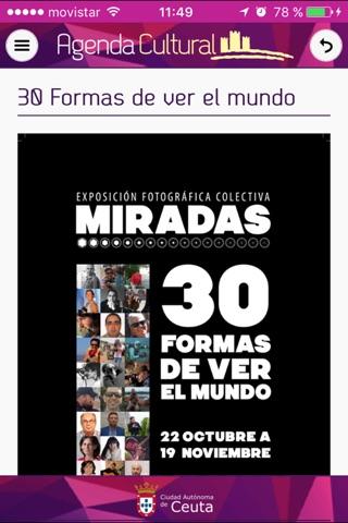 Agenda Cultural Ceuta screenshot 3