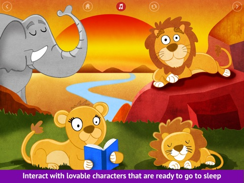 Bedtime is fun! - Get your kids to go to bed easily - Lite screenshot 2