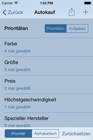 Priorities App - Order your Priorities and Tasks screenshot 3