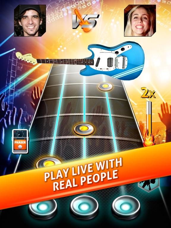 Rock Life - Guitar Band Revenge of Hero Rising Star на iPad