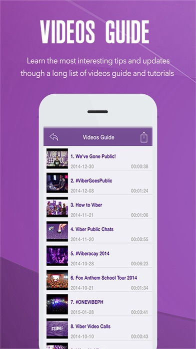 All in One For Viber screenshot one