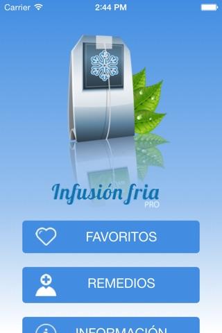 Infusión Fría Pro screenshot 2