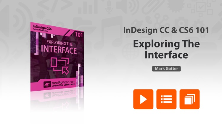 AV for InDesign CS6 - Exploring The Interface by ASK Video