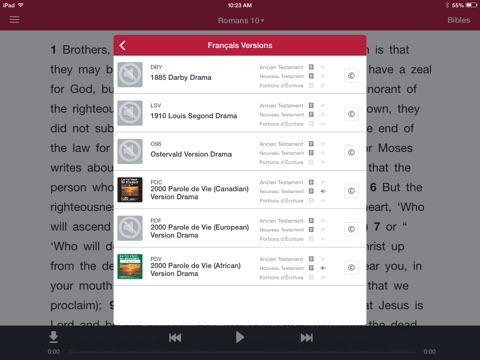 Capture d'écran iPad 3