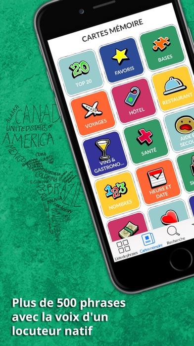 Polonais Dictionnaire - Guide de conversation en ligne gratuit avec cartes mémoire et voix d'un locuteur natifCapture d'écran de 1