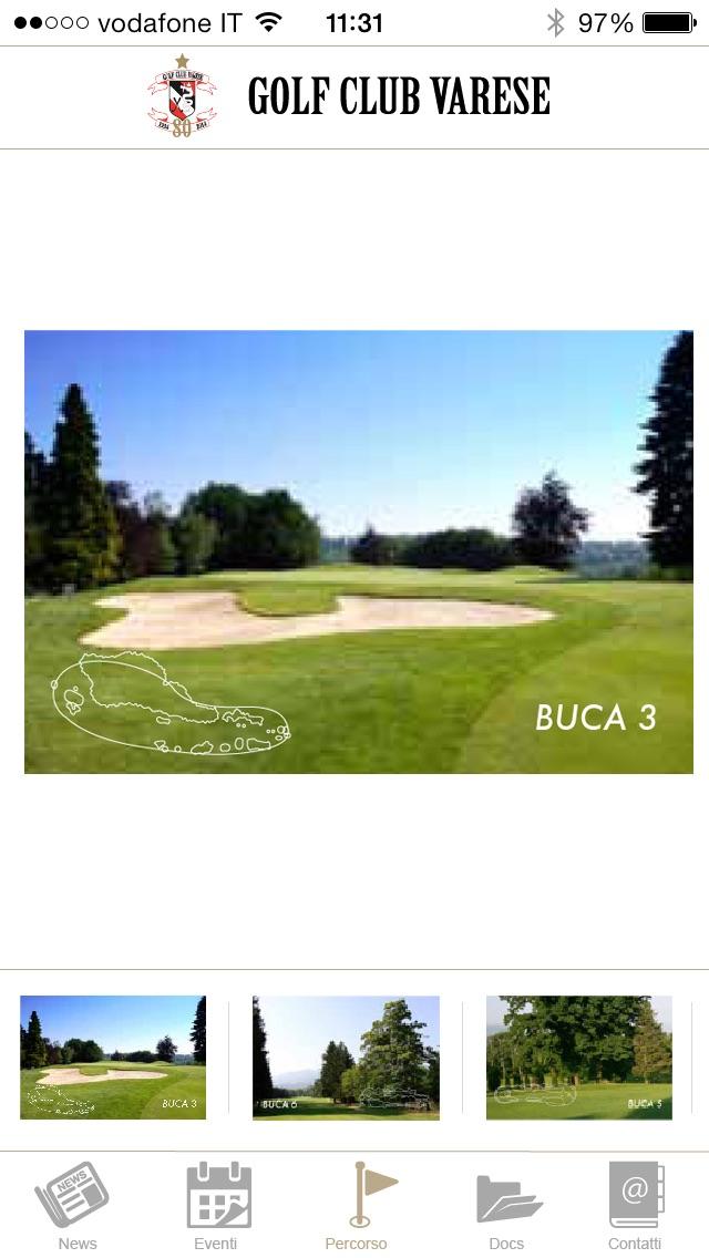 Screenshot of Golf Club Varese3