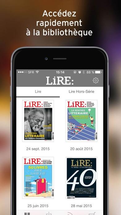 Lire review screenshots