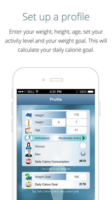 download Calorie Counter - loose weight fast, track calories and reach your weight goal apps 2
