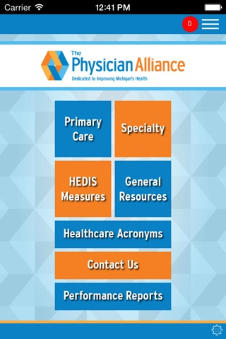The Physician Alliance Physician Education App screenshot 1