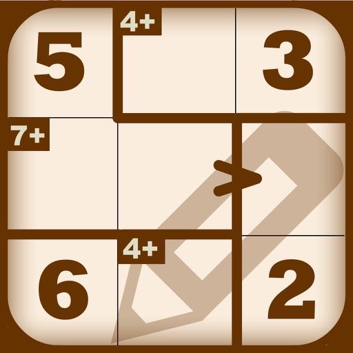 Greater than Killer-Sudoku iOS App