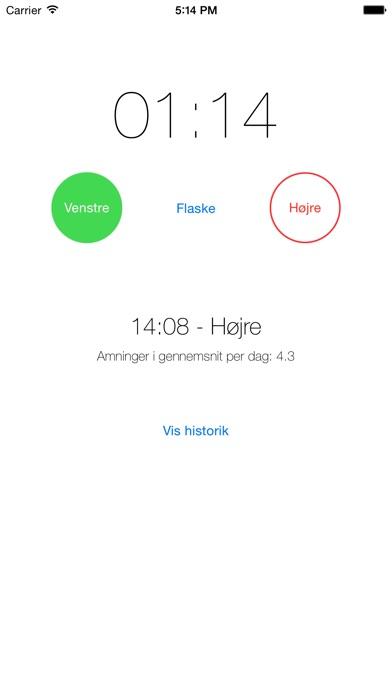 iPhone-skærmbillede 1