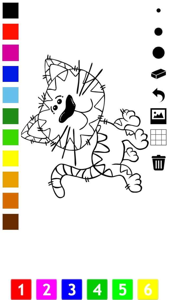 download Actif! Livre À Colorier des Chats Pour Les Enfants: Apprendre À Peindre le Chat apps 3