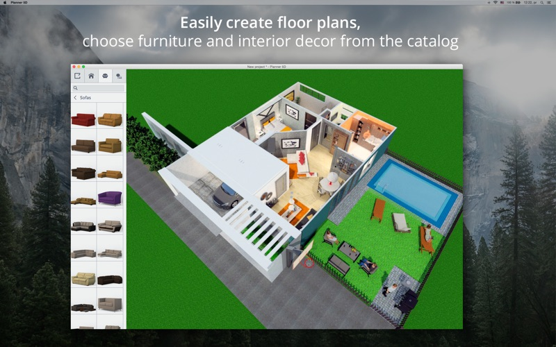 Planner 5d home interior design per planner5d limited for Office design 5d