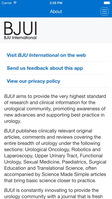 Bjui Journal review screenshots