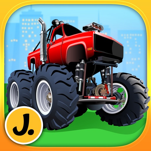 Monster Trucks and Sports Cars - puzzle game for little boys and preschool kids - Free iOS App