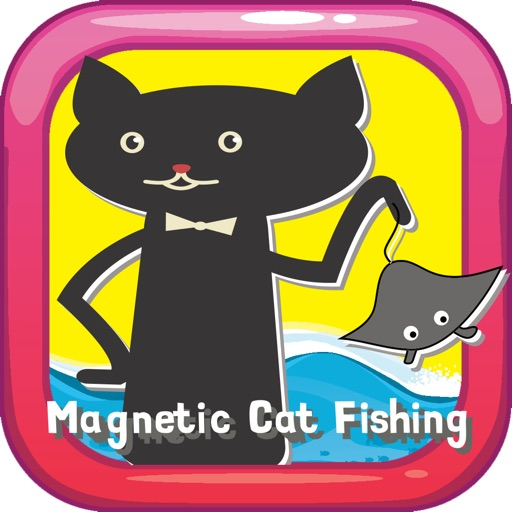 Magnetic Cat Fishing Games for Kids: Catch Fish That You Can! iOS App