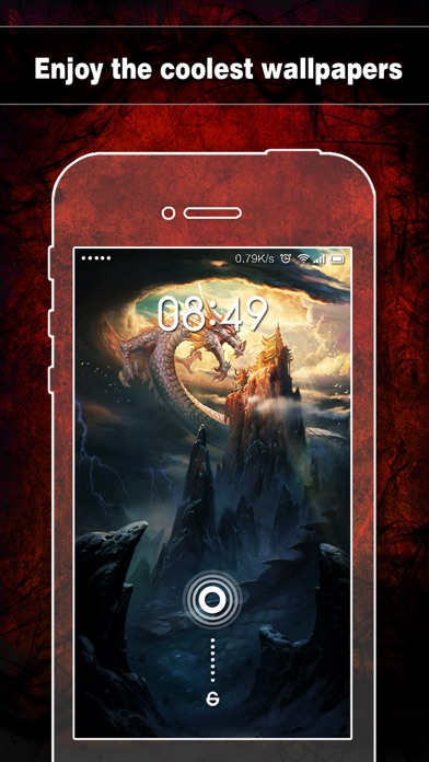 download Dragon Wallpapers, Backgrounds & Themes Pro - Lock Screen Maker with Cool HD Dragon Pics apps 2