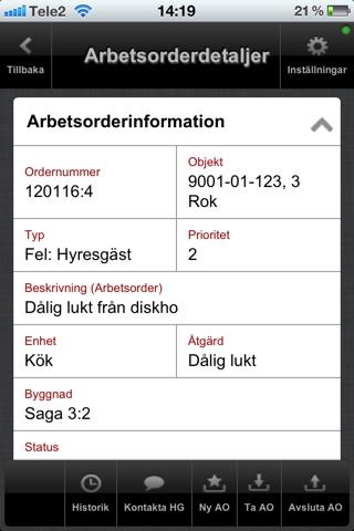 Orustbostäder Teknisk förvaltning screenshot 2