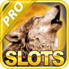 A Las Vegas' Life of Wolf Slots: Shoot the Moon Sky Jackpot Under the Star Chart at Night 2014 Pro