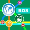 Boston City Maps - Discover BOS with Subway, Bus, and Travel Guides