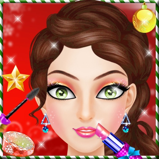 Christmas Frozen Queen : Frozen Princess Makeover, Spa, DressUp iOS App