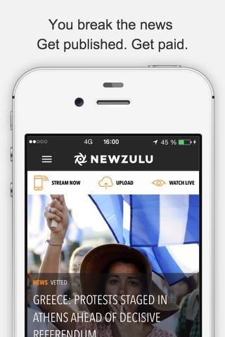 Newzulu, you break the news screenshot 4