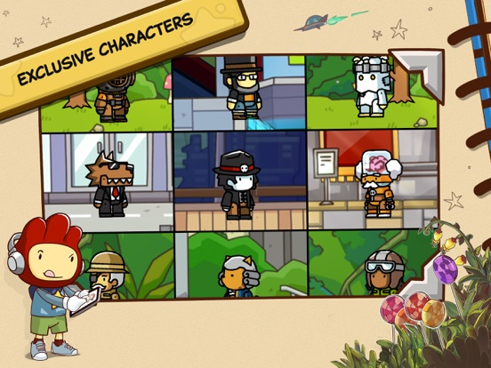Scribblenauts Unlimited iPad