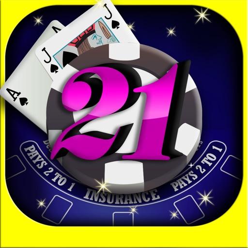 A Ace King Classic Vegas Blackjack iOS App
