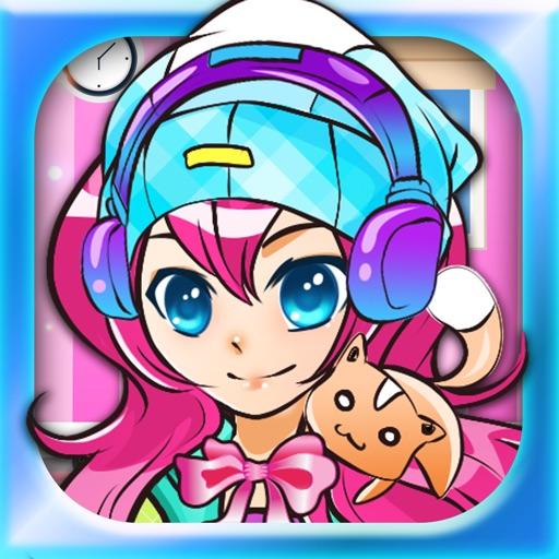 Anime Girl Fashion Studio: Dress-up Style Make-over Shop & Salon Game for Girls iOS App
